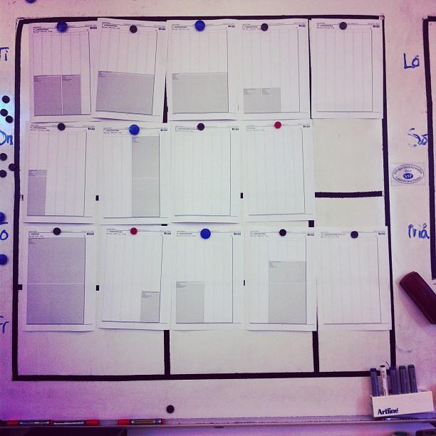Helgplanering på redaktionen