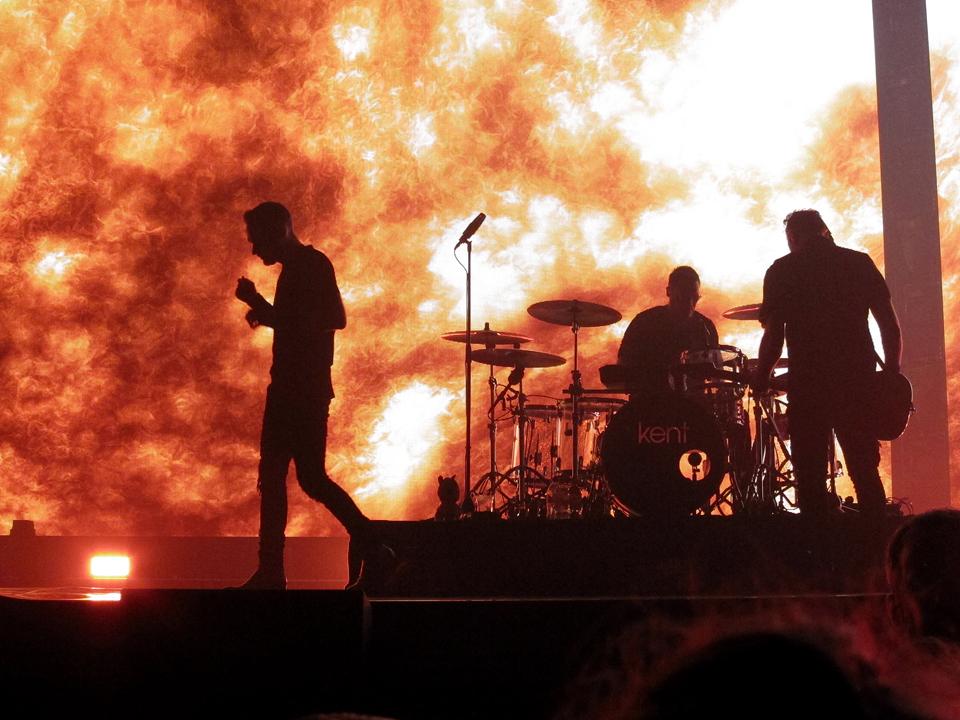 Konsert med Kent i Köpenhamn